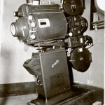 First projector - Simplex 35mm.