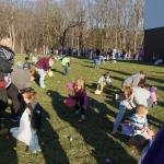 Easter egg hunt during 2016 Easter weekend
