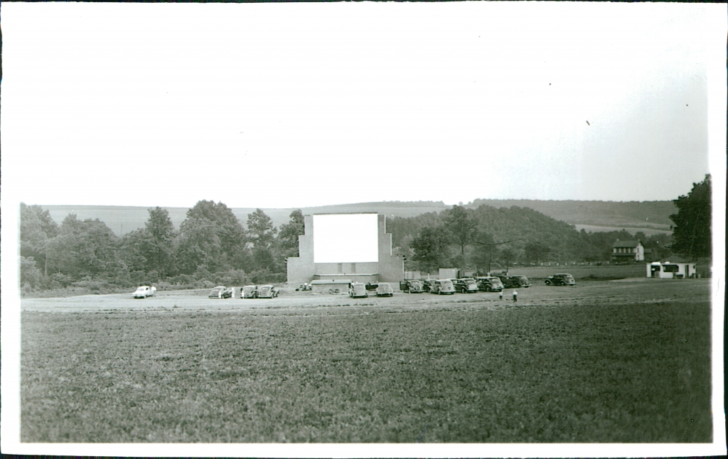 Completed first screen, 1946.