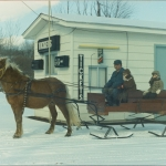 Going for sleigh rides in the winter.