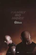 Poster for 'The Fate of the Furious'