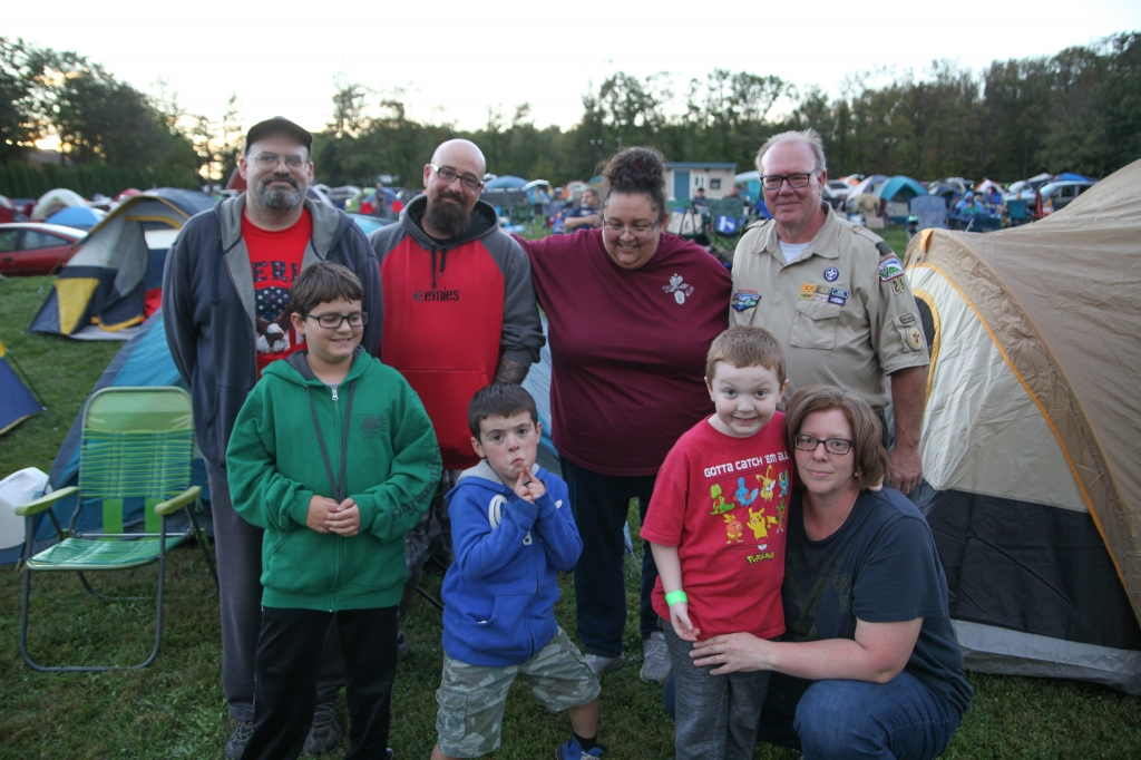 Cub Scout Campout, Friday, September 8th, 2017