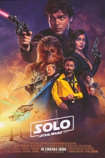 Poster for 'Solo: A Star Wars Story'