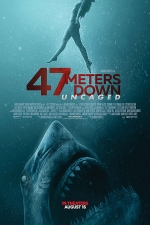 Poster for '47 Meters Down: Uncaged'
