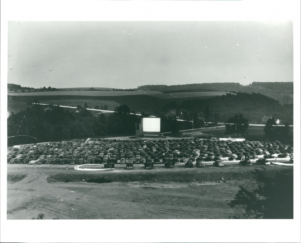 The drive-in (circa 1948) at it
