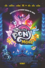 Poster for My Little Pony: The Movie