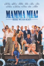 Poster for 'Mamma Mia! Here We Go Again'
