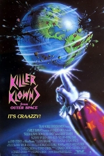 Poster for Killer Klowns from Outer Space (1988)